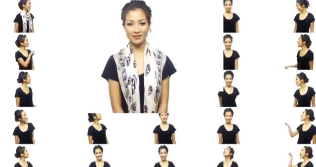 Video-Tipp: 25 Ways to Wear a Scarf in 4.5 Minutes