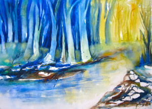 Bislang im Wald