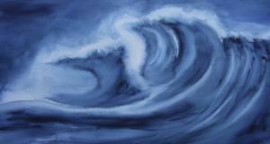 Die Lust auf Farbe - Wellen_