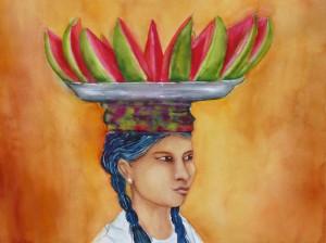 Schlicht und einfach- Portrait Birmesin_