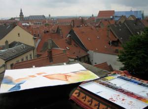 Ueber den Daechern von Bamberg - Altstadt