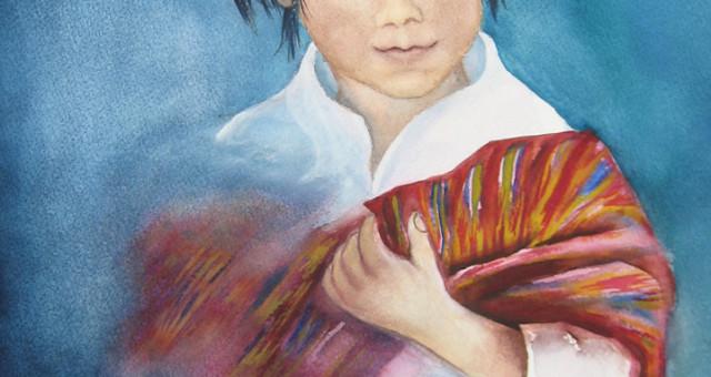 Aquarell Porträt: Vom Zauber einer Reise,