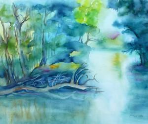 Wasserlandschaft Altmuehltal -Vom Nichtsuchen_