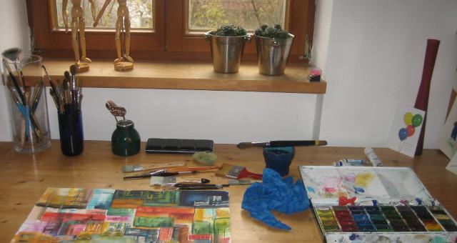 Atelier: Ein Blick durchs Schlüsselloch